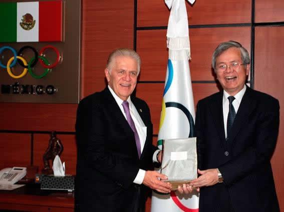 El Embajador de Taiwán Visita el CDOM