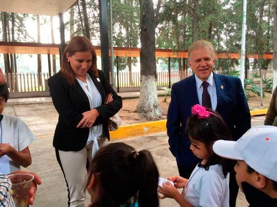 Primaria General Antonio de León y Loyola visitó el CDOM