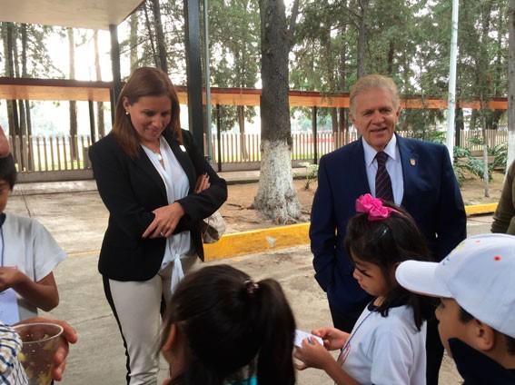 Inolvidable Convivencia Vivieron Alumnos de Escuela Primaria en el CDOM