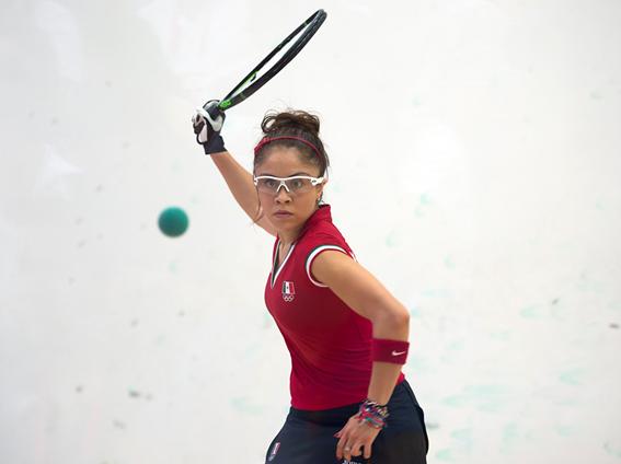 Paola Longoria abanderada de México para Toronto 2015