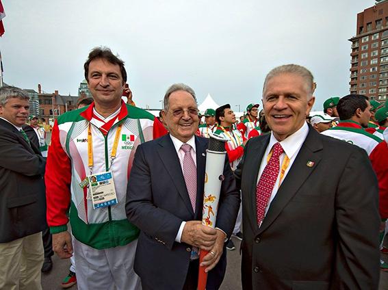 Izamiento de La Bandera de México