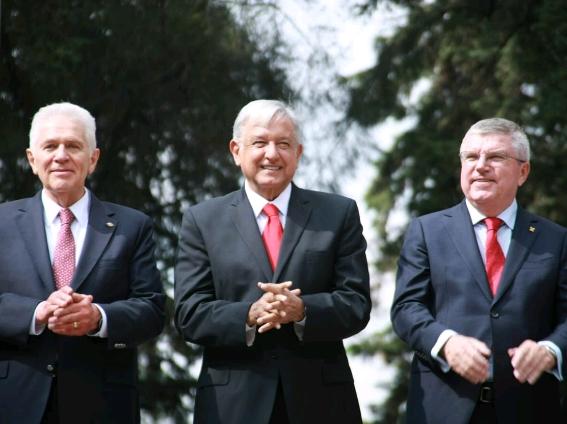 Discurso de saludo al Presidente electo Andrés Manuel López Obrador